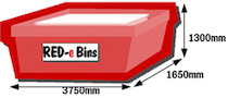larger skip bins for hire - share the cost with a neighbour